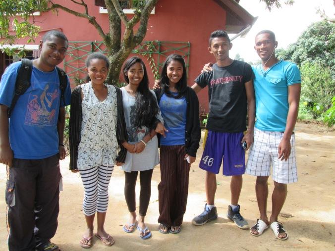 Jeunes accueillis au cep, 2015